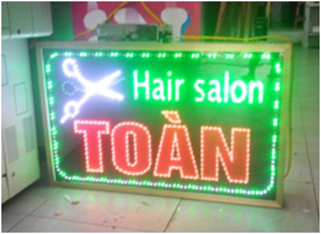 Mẫu biển quảng cáo tóc nào đang hot nhất 2018 2