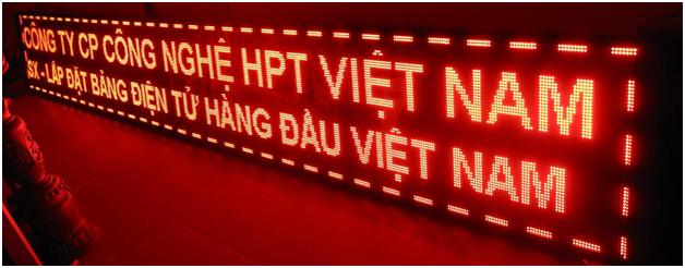 Thi công bảng led ma trận quận Tân Bình có bảo hành 2
