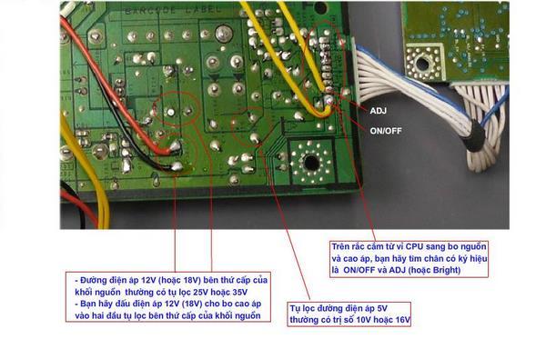 Board cao áp màn hình LED được sử dụng tại những vị trí nào? 2