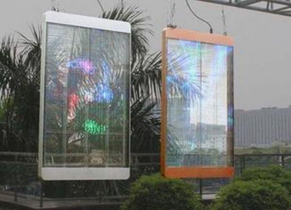 Ưu điểm vượt trội dòng màn hình LED trong suốt 3