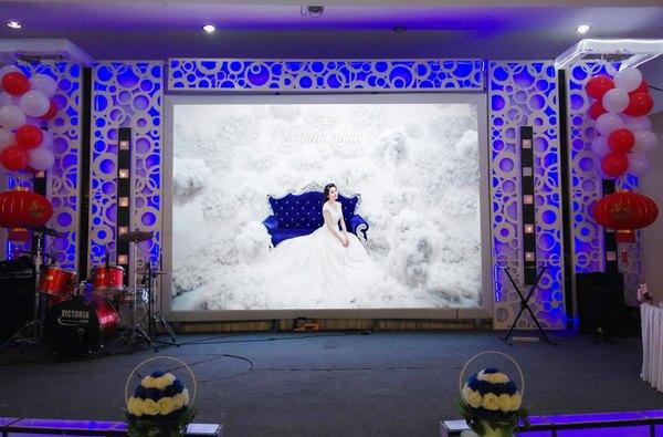 bán màn hình led tiệc cưới 1