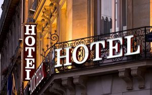 biển hiệu khách sạn 1